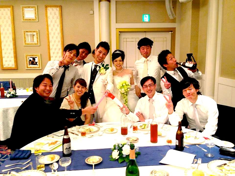 結婚式余興サプライズスピーチ&ダンス