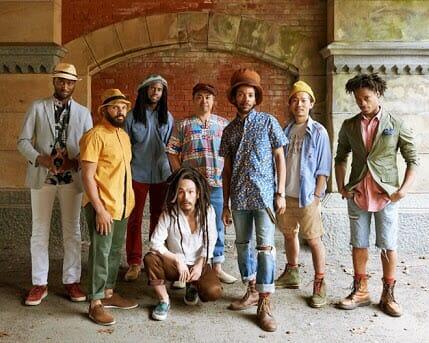 実力派レゲエバンド、ブラウン・ライス・ファミリー(Brown Rice Family)。