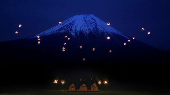 富士山とドローンと「和」の融合:SkyMagic