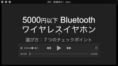offlibertyでダウンロードしたwebm形式の動画をquicktimeでmovに変換された