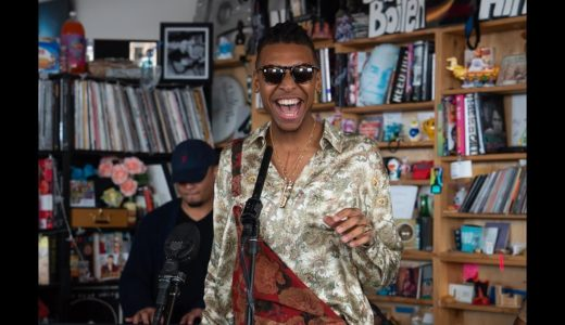 リラックスBGMに良いYoutube動画「NPR Music Tiny Desk Concert」
